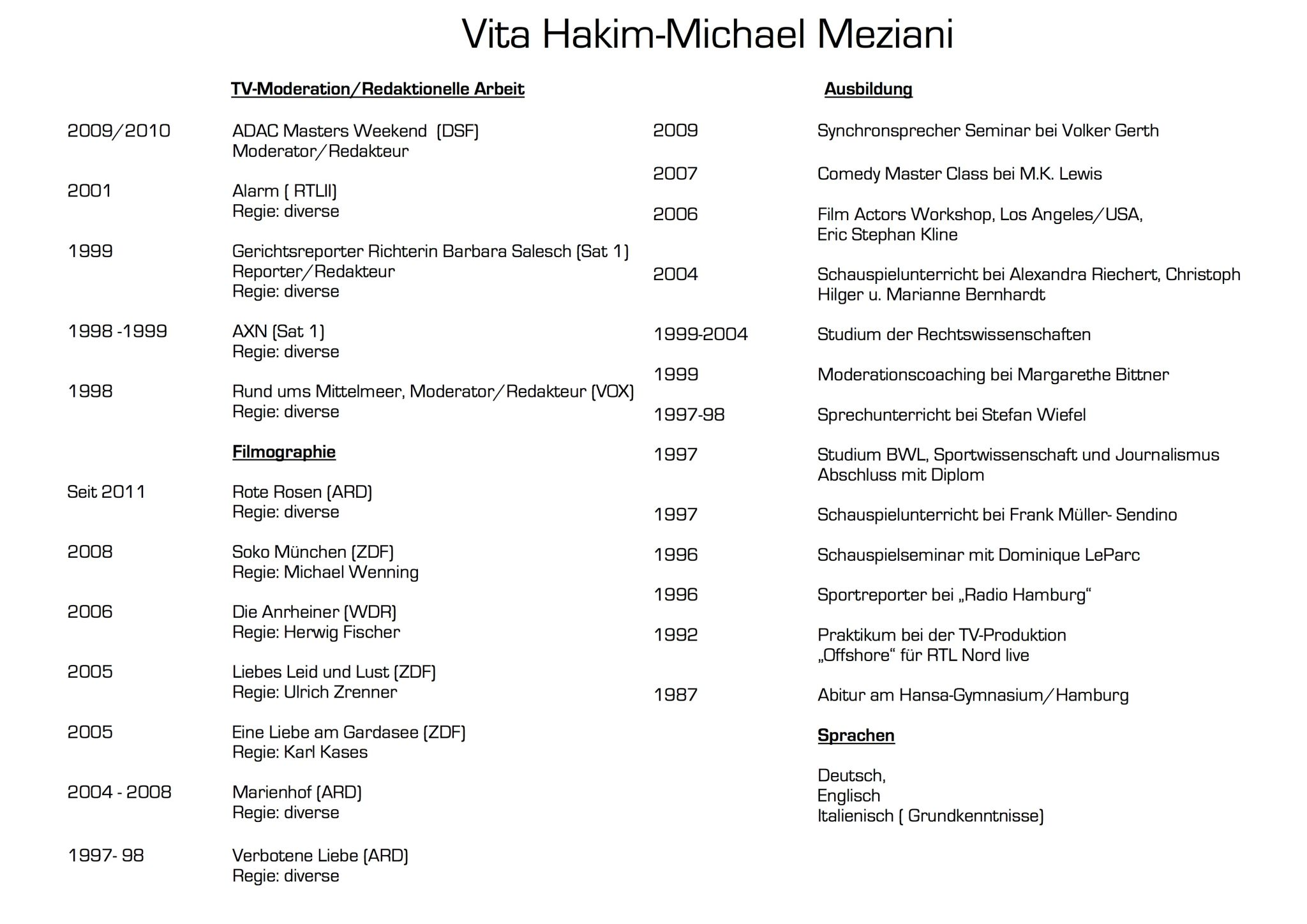 Vita Hakim-Michael Meziani 2015 neu